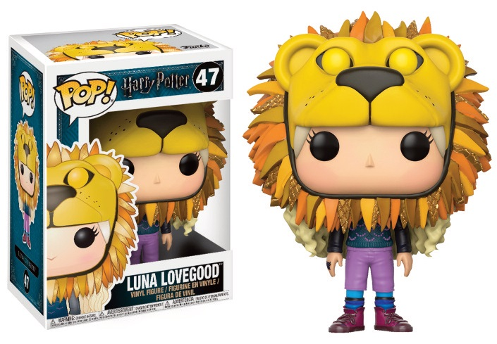 Pop! Harry Potter: Luna with Lion's Head Vinyl Figure 10 cm