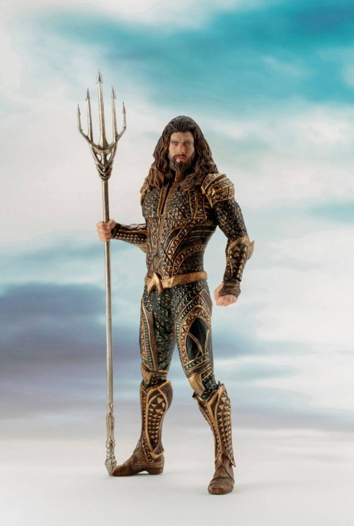 Justice League Movie ARTFX+ Statue 1/10 Aquaman 20 cm