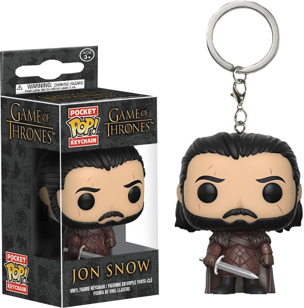 Funko Pocket POP! Keychain - Jon Snow New Variant Vinyl Figure