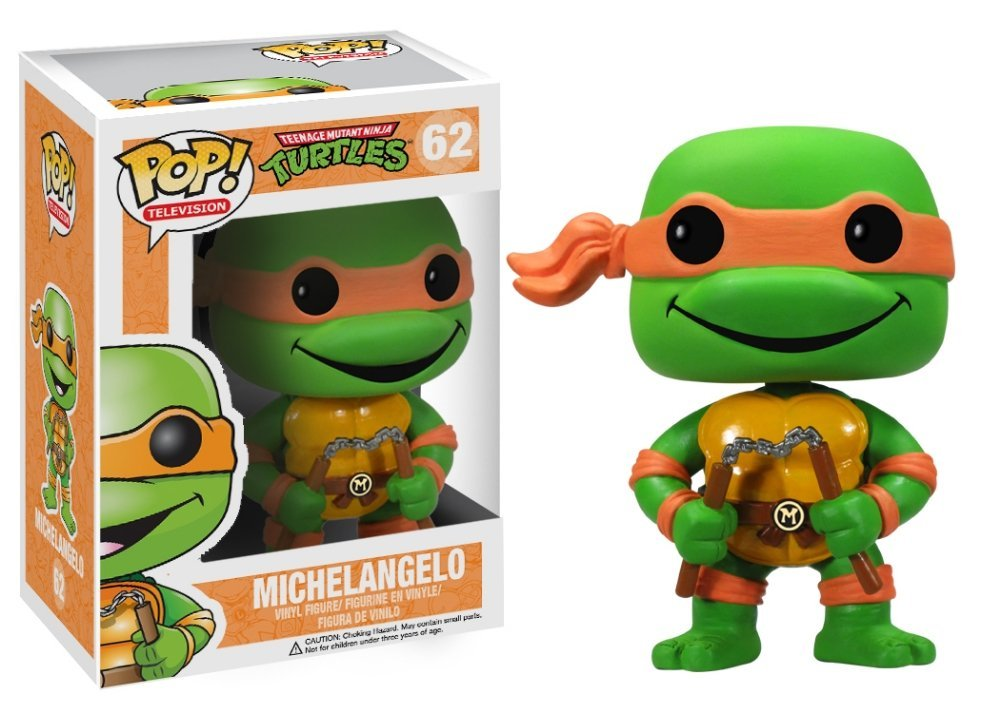 Funko POP! Teenage Mutant Ninja Turtles - Michelangelo Vinyl Figure 10 cm
