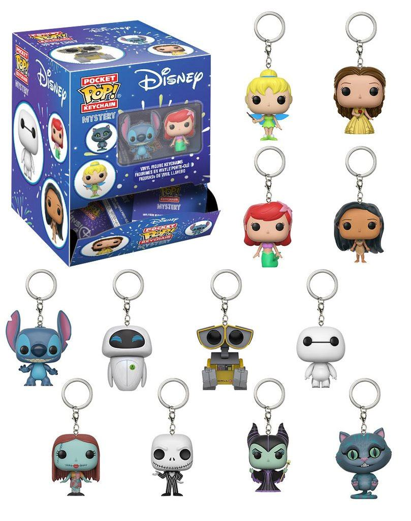 Disney Pocket POP! Vinyl Keychain Mystery 5 cm