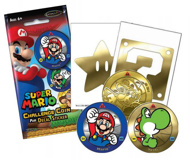 Super Mario Challenge Coin Pack