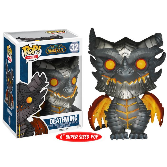 Funko POP! World Of Warcraft Series 2 - Deathwing Oversized 15 cm