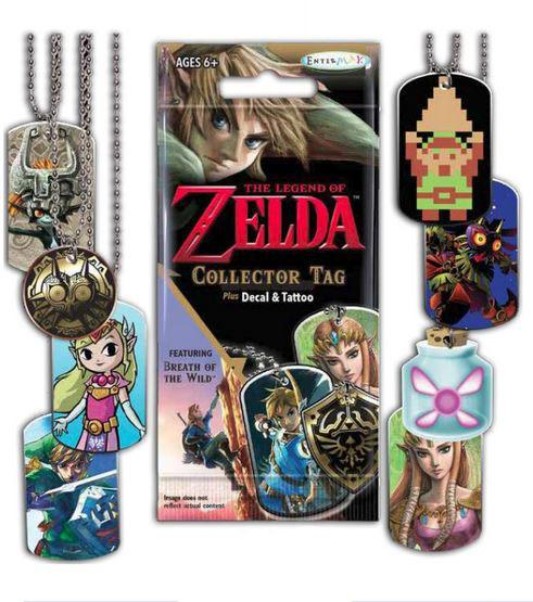 Legend of Zelda Collector Tag Fun Pack