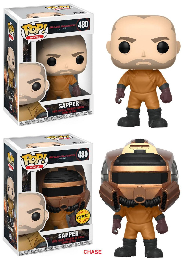 Pop! Movie: Blade Runner 2049 - Sapper + Chase Vinyl Figure 10 cm