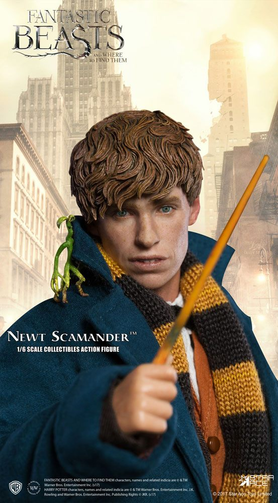 Fantastic Beasts My Favourite Movie Action Figure 1/6 Newt Scamander 30 cm