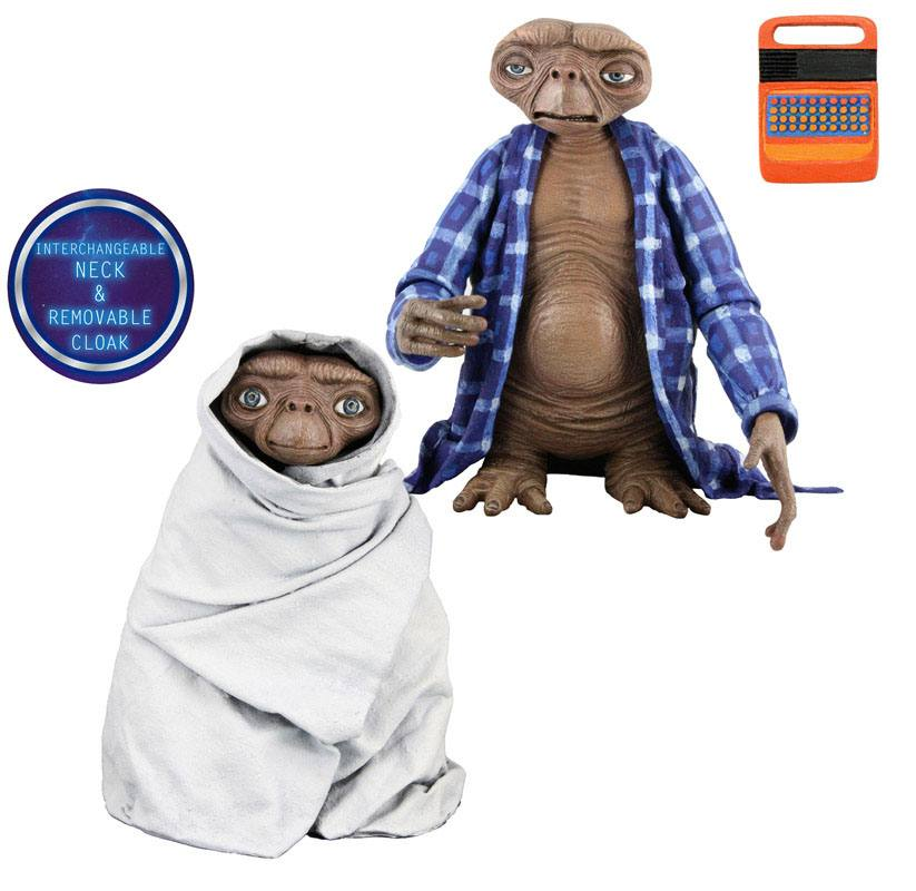 E.T. the Extra-Terrestrial Series 2 Pack 2 Action Figures Case 13 cm