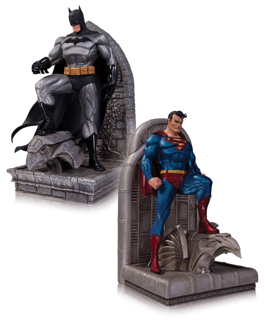 DC Comics Bookends Superman & Batman 22 cm