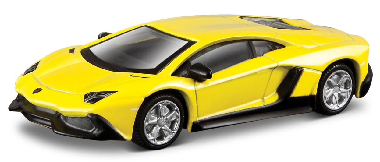 Lamborghini Aventador 50E Anniversary Version Scale 1:64 (Yellow/Amarelo)