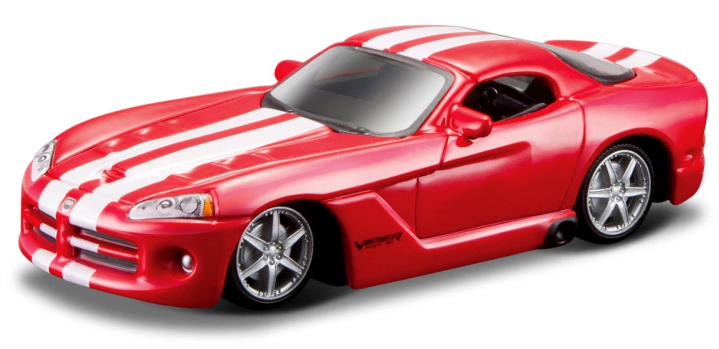 Dodge Viper SRT 10 2008 Scale 1:64 (Rood/Vermelho)