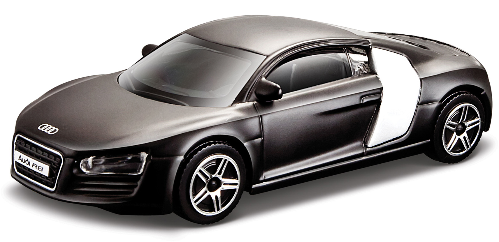 Audi R8 Scale 1:64 (Black/Preto)