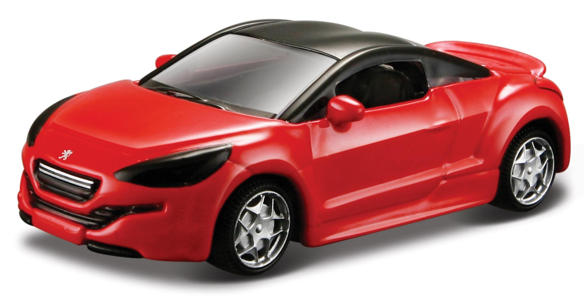 Peugeot 308 RCZ Scale1:64 (Red/Vermelho)