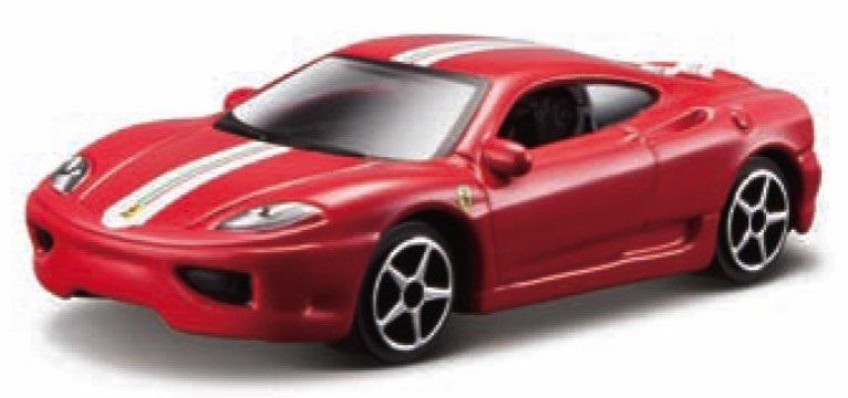 Ferrari 360 Challenge Stradale Race & Play Scale 1:64 (Red/Vermelho)