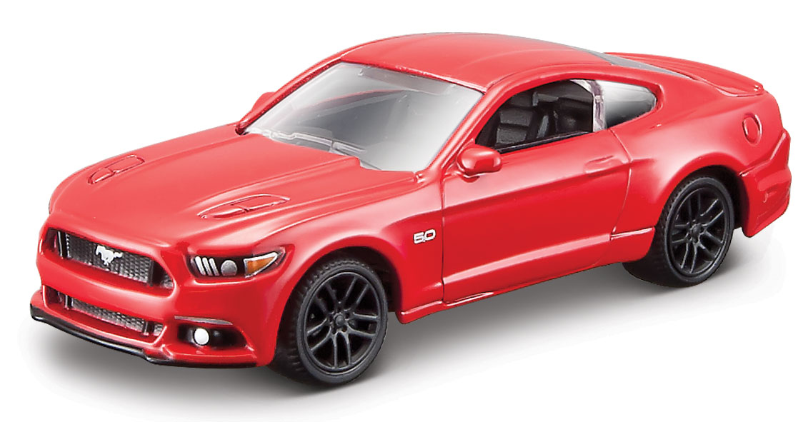 Ford Mustang 2015 Scale 1:64 (Red/Vermelho)