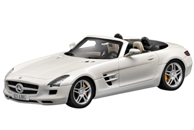 Mercedes Benz Sls Amg Roadster Scale 1:43 (White/Branco)