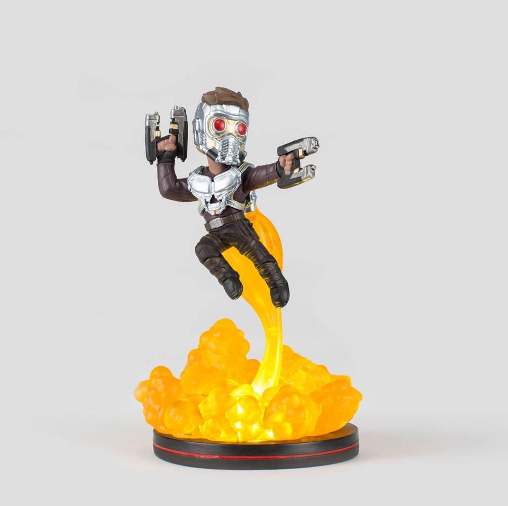 Marvel Comics Light-Up Q-Fig Figure Star Lord 16 cm