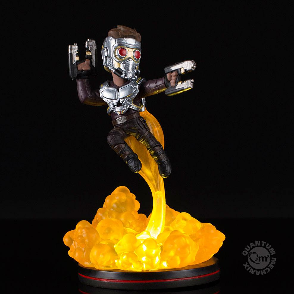 Marvel Comics Light-Up Q-Fig Figure Star Lord 16 cm