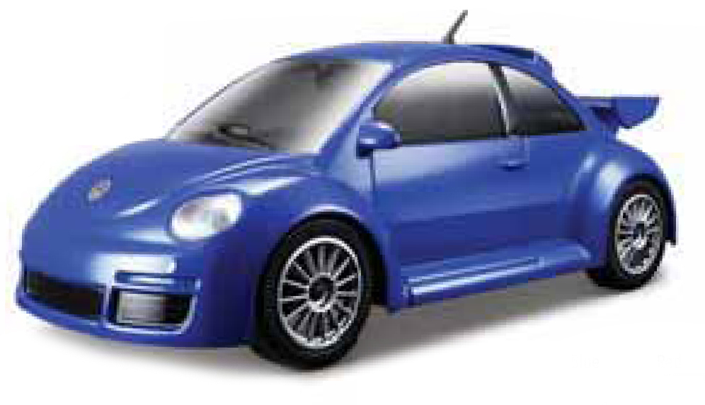 VW Beetle New Rsi 2012 Scale1:43 (Blue/Azul)