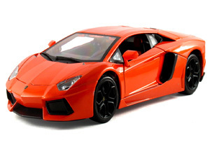 Lamborghini Gallardo Lp 560-4 Scale1:43 (Orange/Laranja)