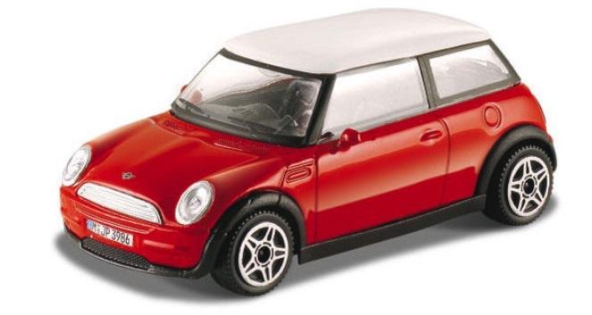 Mini Cooper 2008 Scale 1:43 (Red/Vermelho)