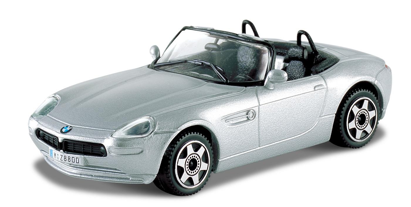 BMW Z8 Cabriolet 2008 Scale 1:43 (Silver/Prateado)