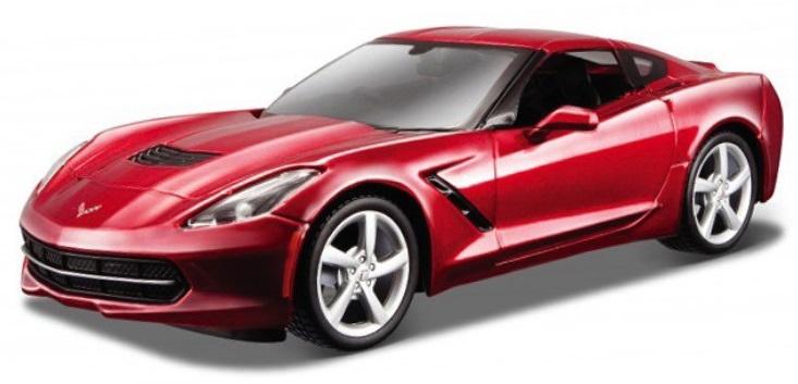 Chevrolet Corvette Stingray 2014 Scale 1:43 Metallic Red/Vermelho Metálico