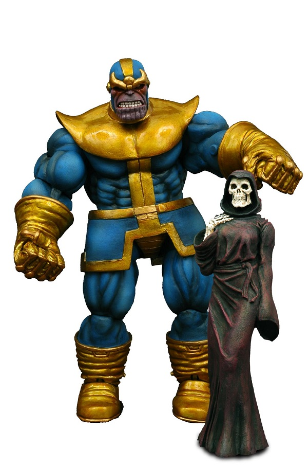 Action Figure Marvel Select Thanos Collectors Edition 18 cm