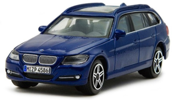 BMW 3 Serie Touring 2010 Scale 1:43 (Metallic Blue/Azul Metálico)