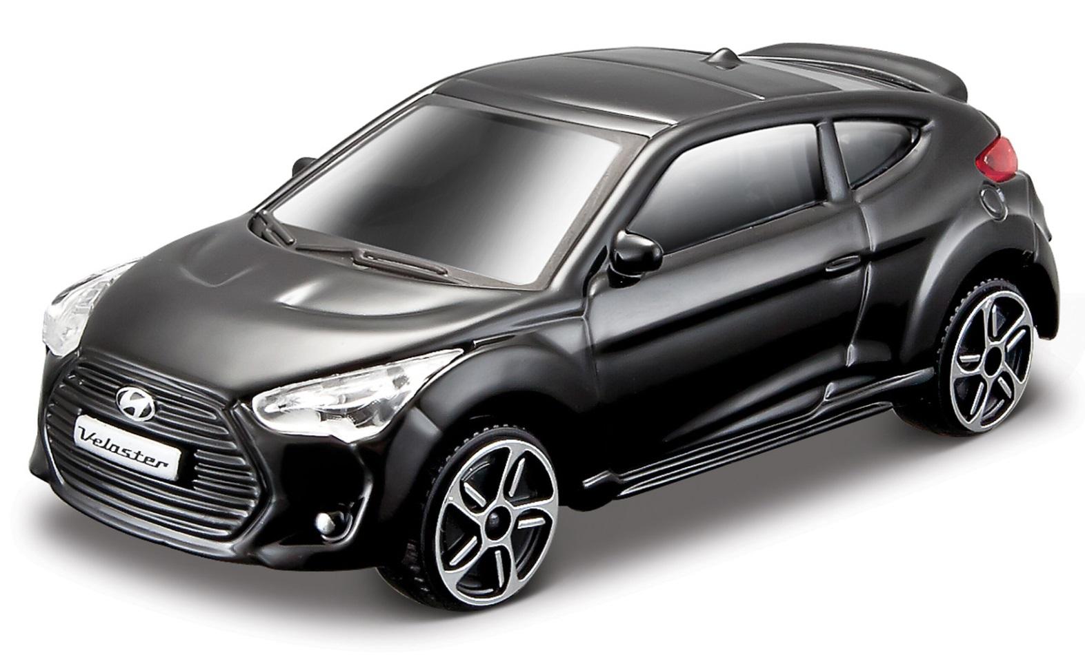 Hyundai Veloster Turbo 2013 Scale 1:43 (Black/Preto)