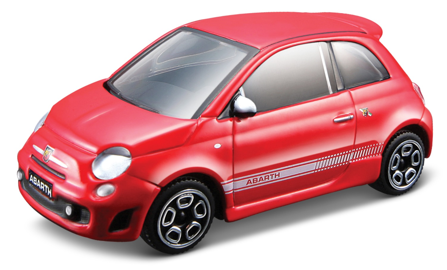 Abarth 500 Scale 1:43 (Red/Vermelho)