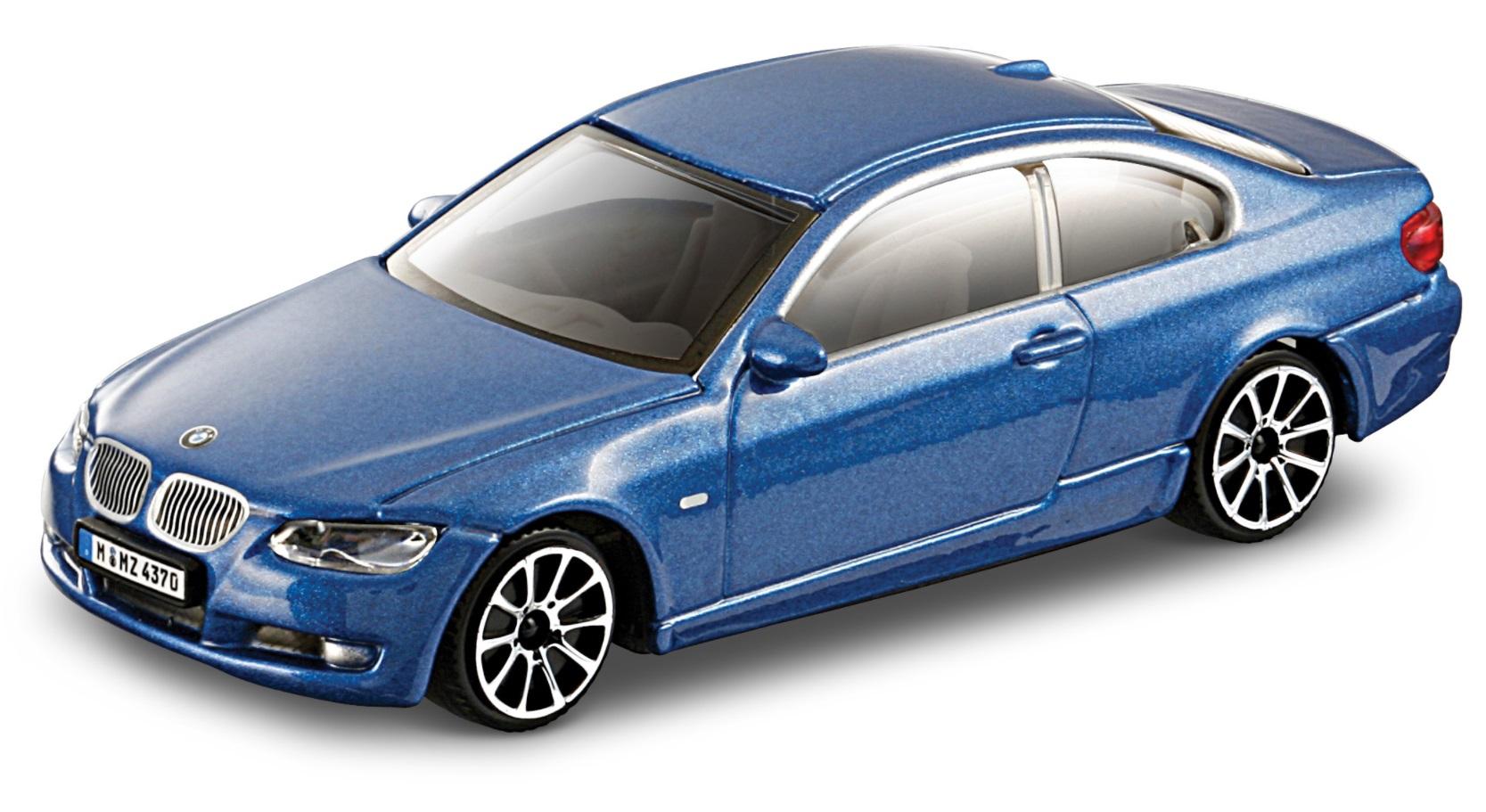 BMW 335I 2008 Scale 1:43 (Blue/Azul)