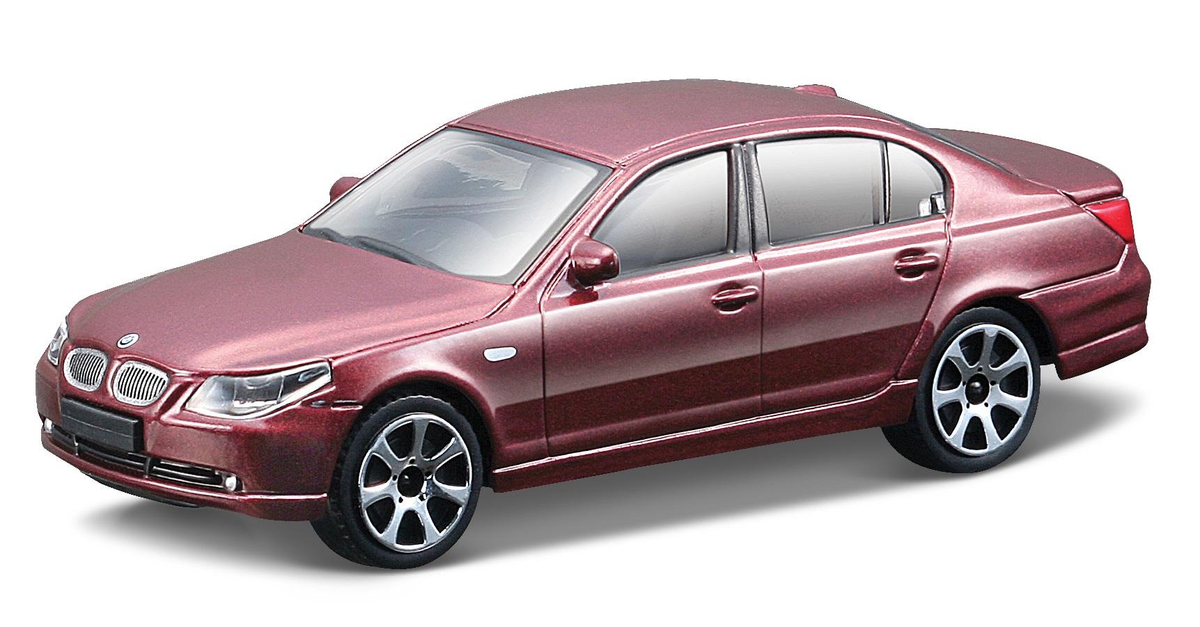 BMW 545I 2009 Scale 1:43 (Metallic Red/Vermelho Metálico)
