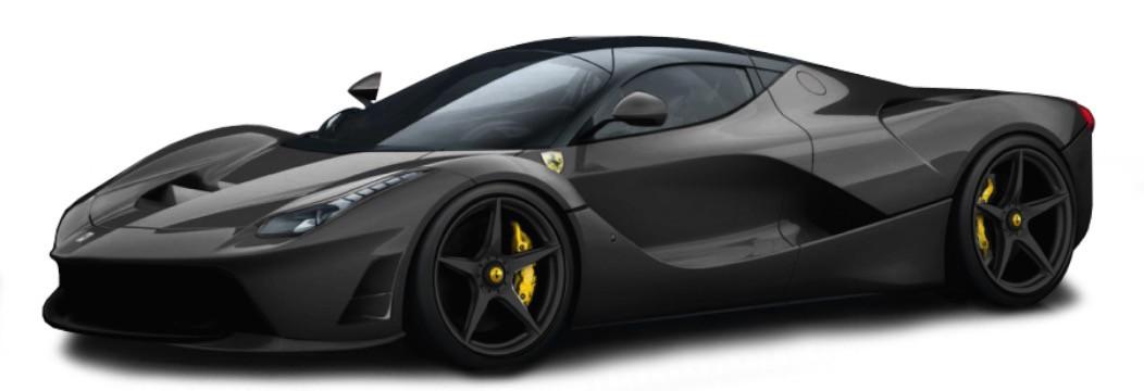 Ferrari Laferrari Race & Play Scale 1:64 (Black/Preto)