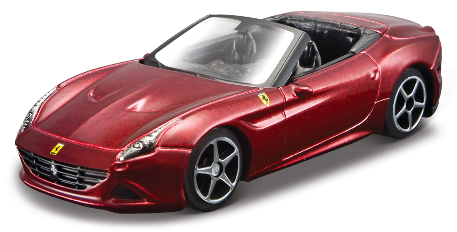 Ferrari California T Open Top Race & Play Scale 1:64 (Red/Vermelho)