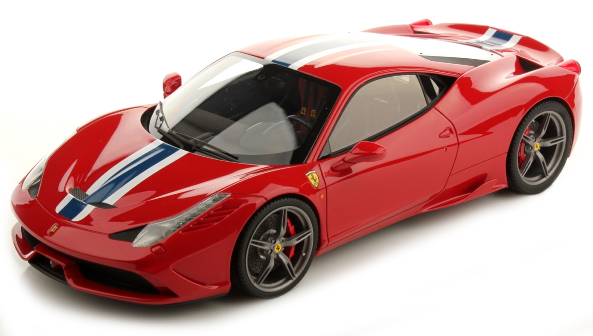 Ferrari 458 Speciale Race & Play Scale 1:64 (Red/Vermelho)
