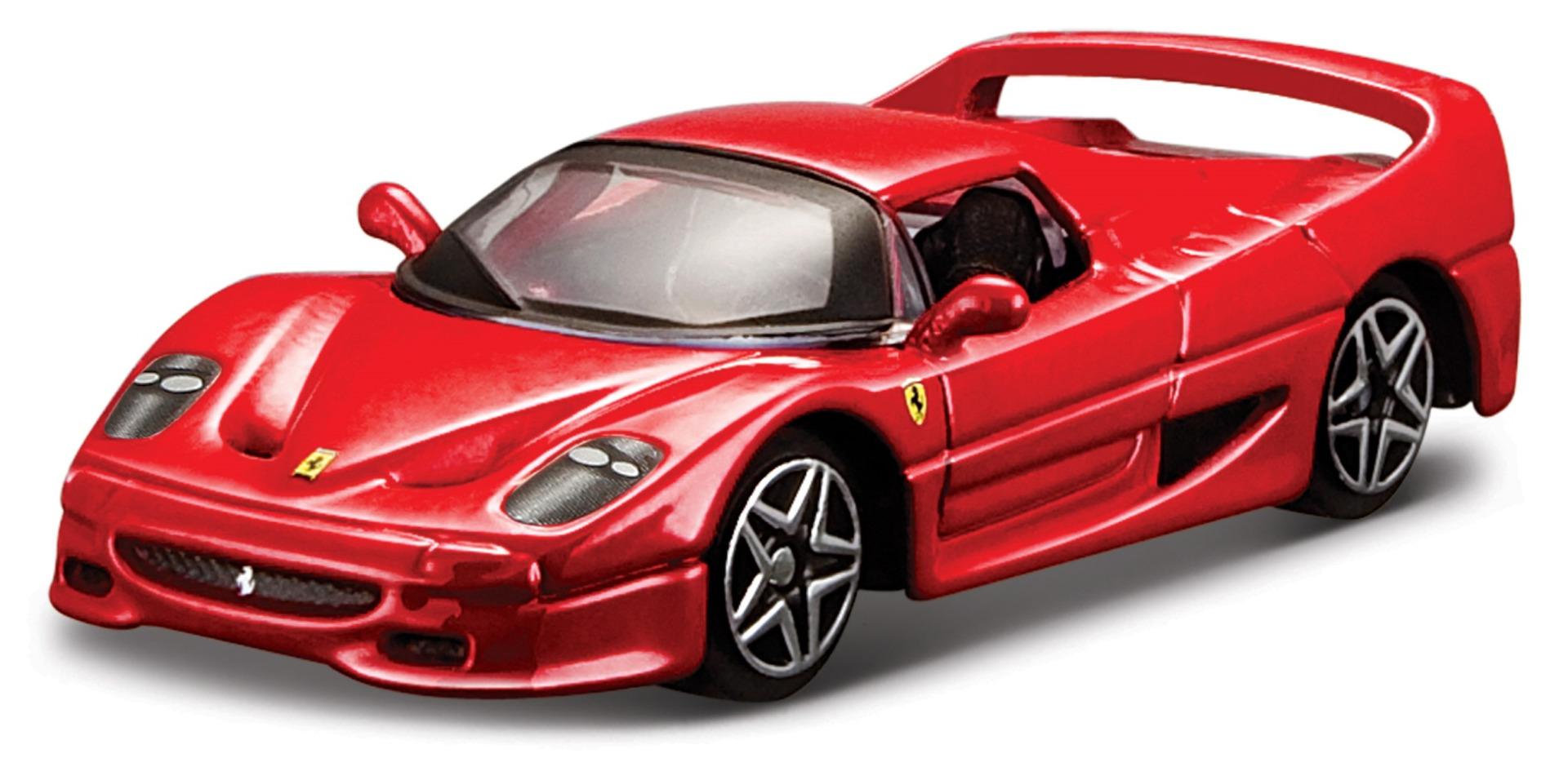 Ferrari F50 Race & Play Scale 1:64 (Red/Vermelho)