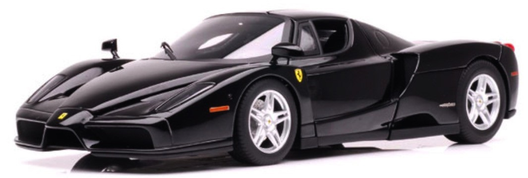 Ferrari Enzo Race & Play Scale 1:64 (Black/Preto)