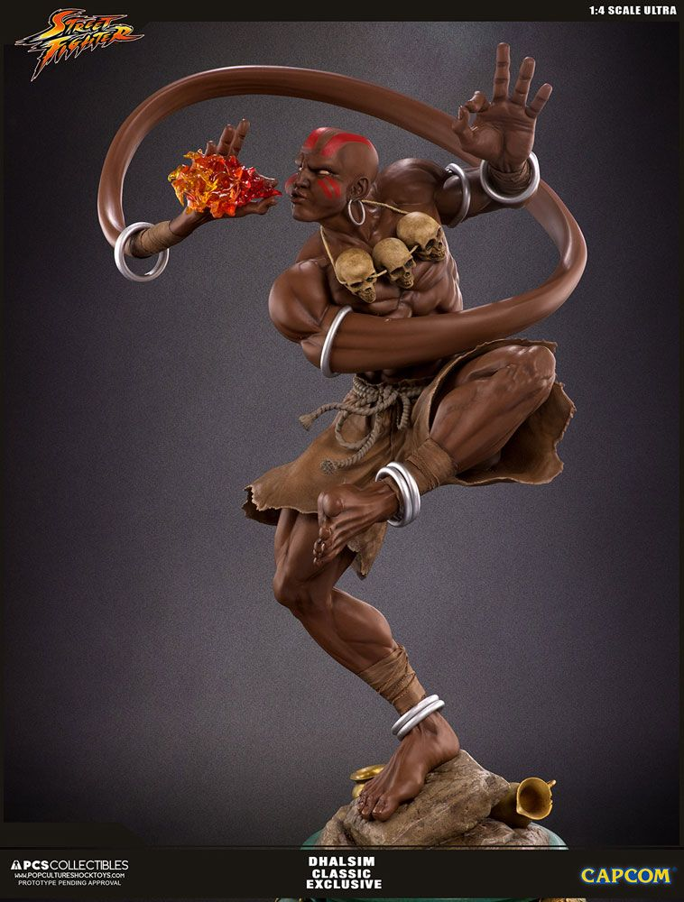 Street Fighter V Ultra Statue 1/4 Dhalsim Classic Exclusive 62 cm