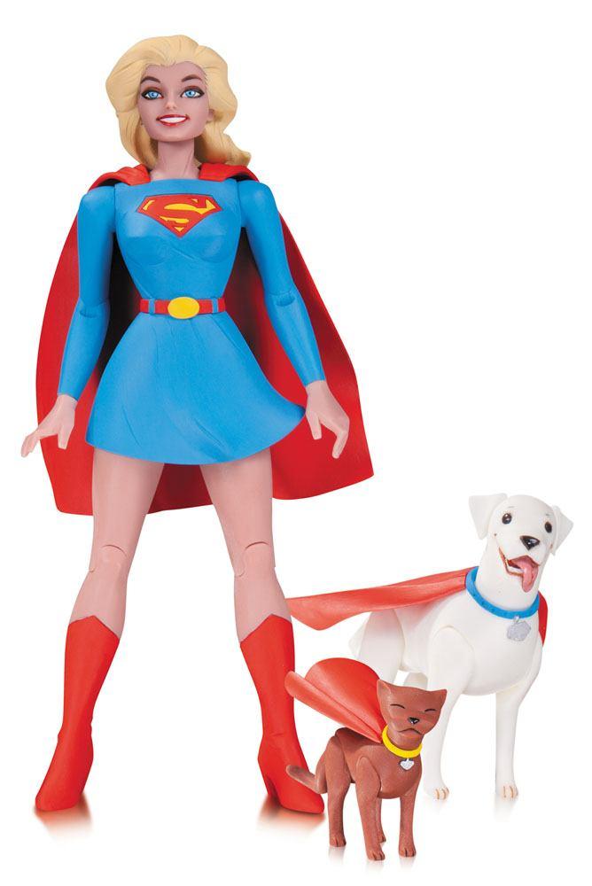 DC Comics Designer Action Figure Supergirl by Darwyn Cooke 17 cm
