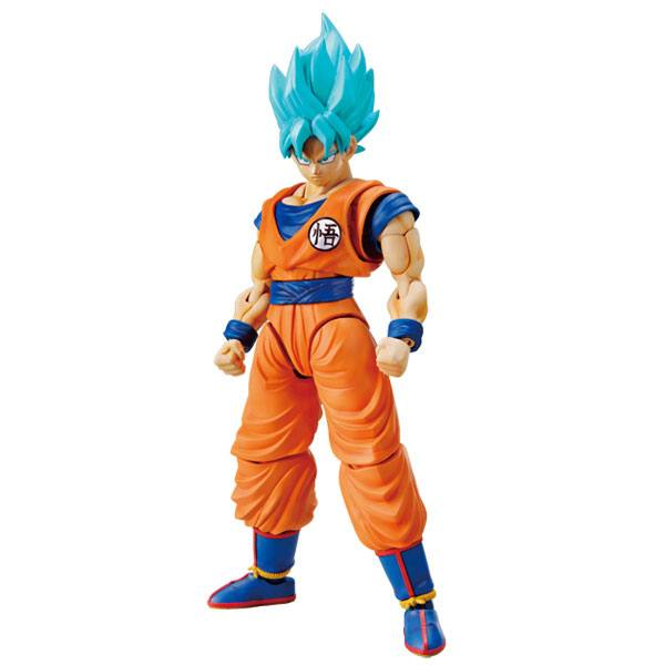 Dragonball Z Figure-rise Standard Plastic Model Kit SS God Super Son Goku