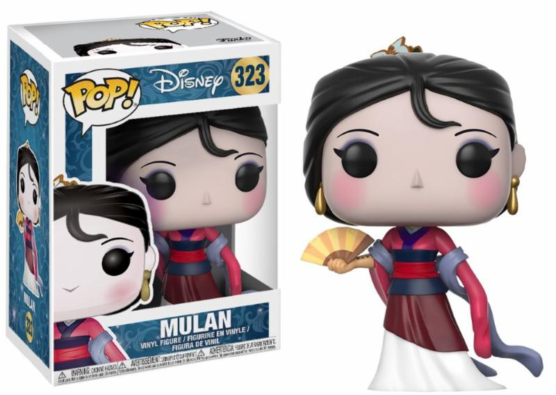 Pop! Disney: Disney Princess - Mulan Vinyl Figure 10 cm