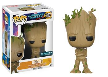 Pop! Marvel: Guardians of the Galaxy Teenage Groot Exclusive Edition 10 cm
