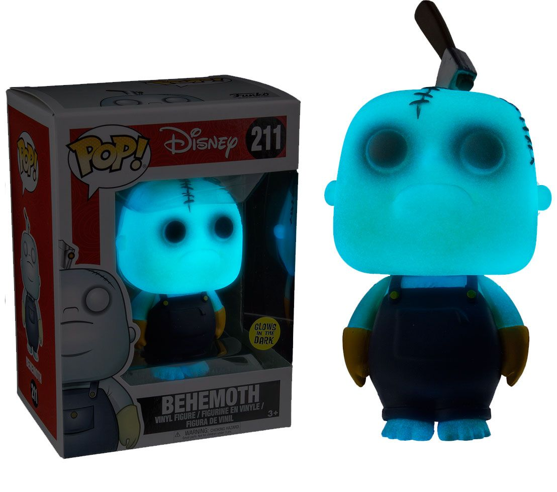 Pop! Disney: Glow in the Dark - Behemoth Vinyl Figure 10 cm