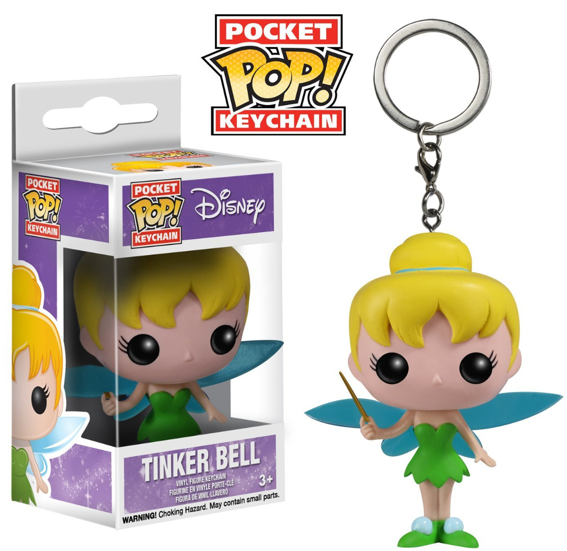 Funko Pocket POP! Disney Keychain - Tinker Bell Vinyl Figure 4 cm