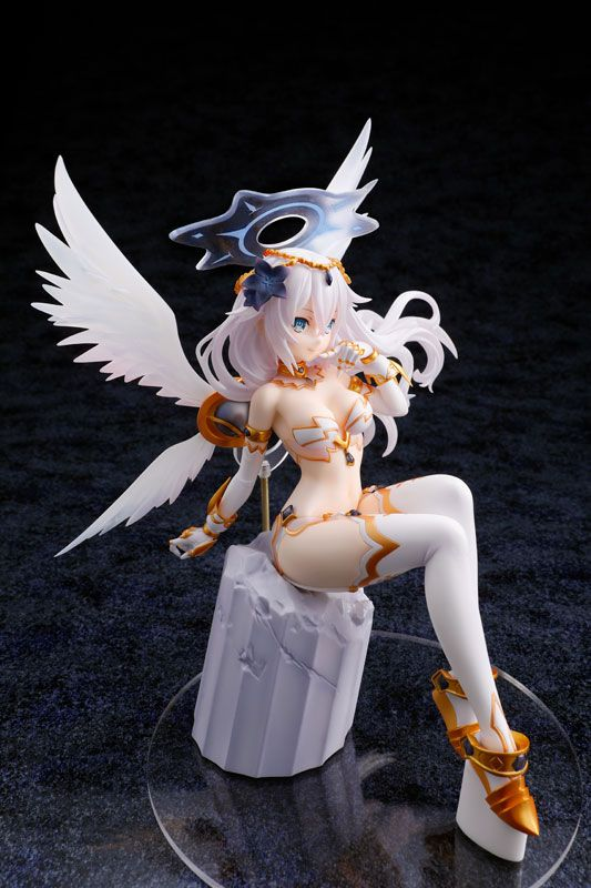Cyberdimension Neptunia 4 Goddesses Online Statue 1/7 Black Heart 21 cm