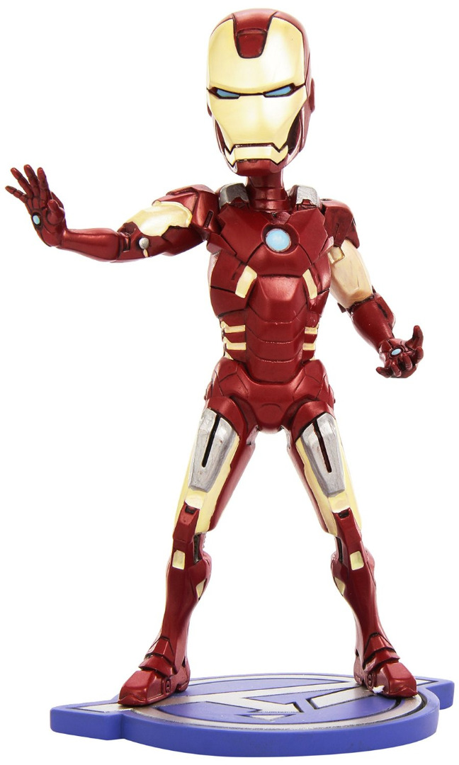 Avengers The Movie Iron Man Head Knocker 21 cm