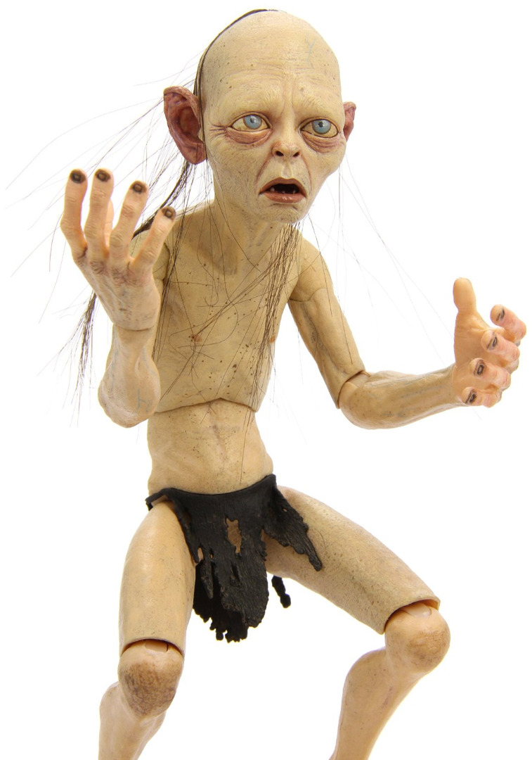Action Figure Lord Of the Rings Smeagol 1/4 Scale poseable Limited Edition