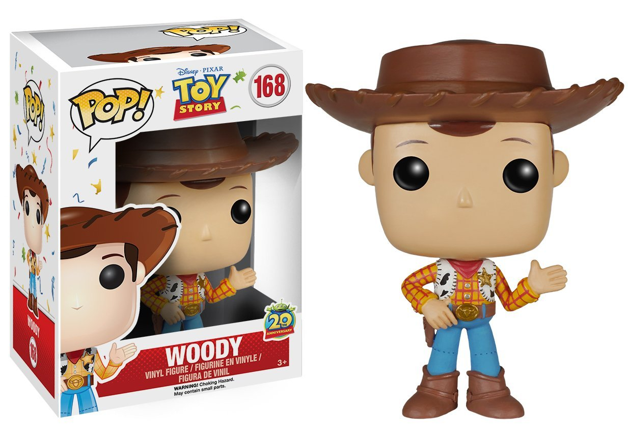Disney POP! Toy Story 20th Anniversary - Woody Vinyl Figure 10 cm