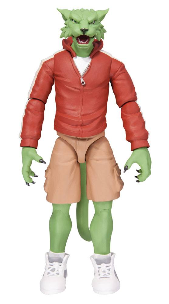 DC Comics Designer Action Fig. Teen Titans Earth One Beast Boy Terry Dodson