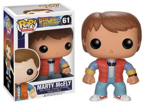 Funko POP! - Back To The Future - Marty McFly Vinyl Figure 10 cm